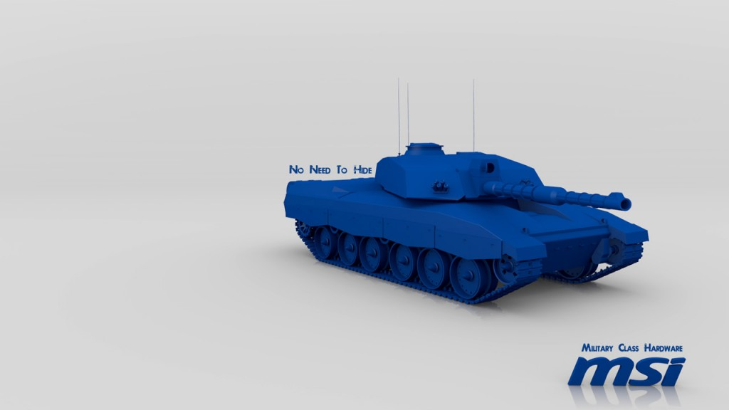 MSI Tank Render