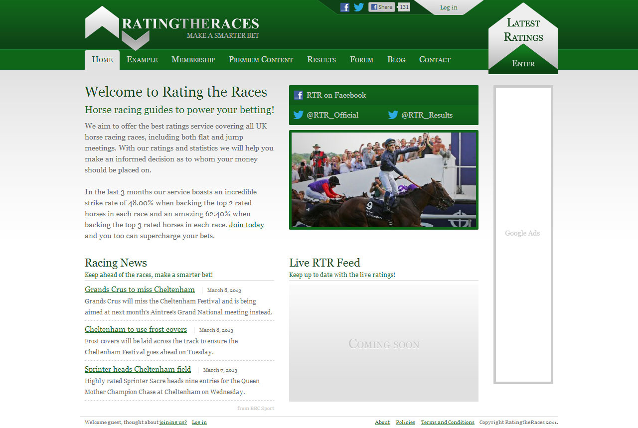 Rating the Races